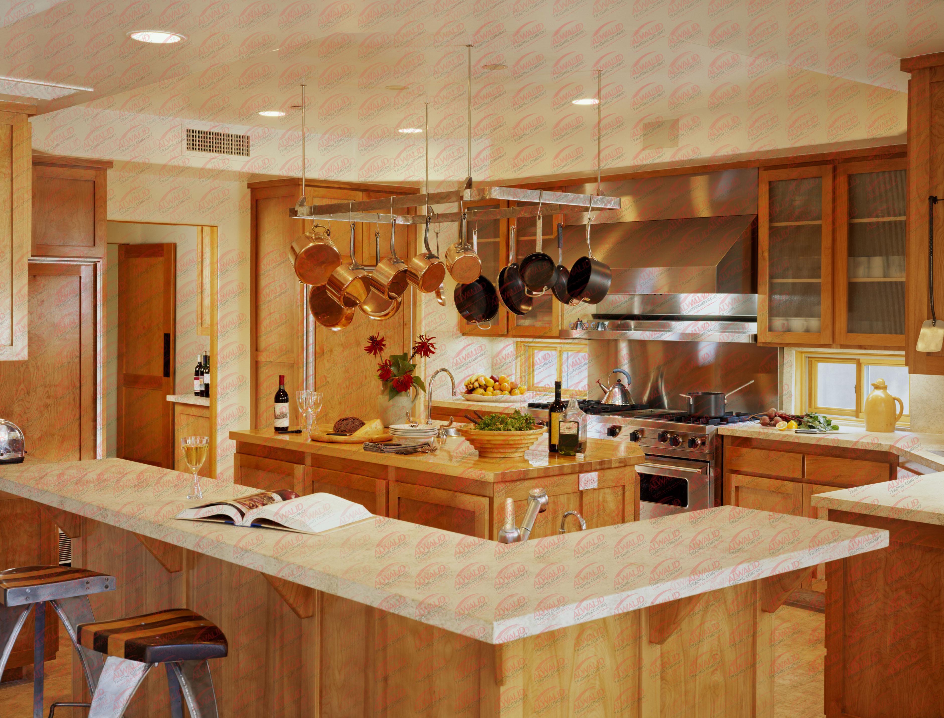 Красивая отделка кухни